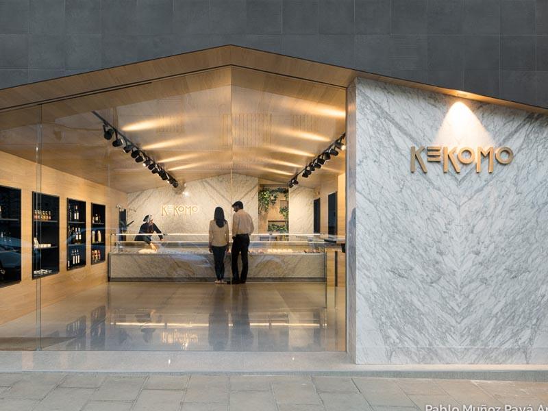 Kekomo, diseño de interiores del estudio Pablo Muñoz Payá. Calidez y sofisticación