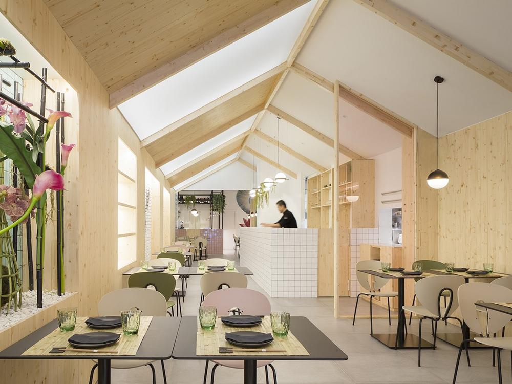 Restaurante Kamon, de Nonna Design: diseño nórdico, sabor japonés