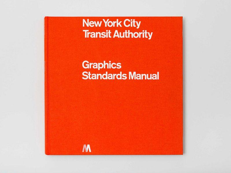 NYCTA Graphics Standards Manual, de Massimo Vignelli y Bob Noorda, 1970.