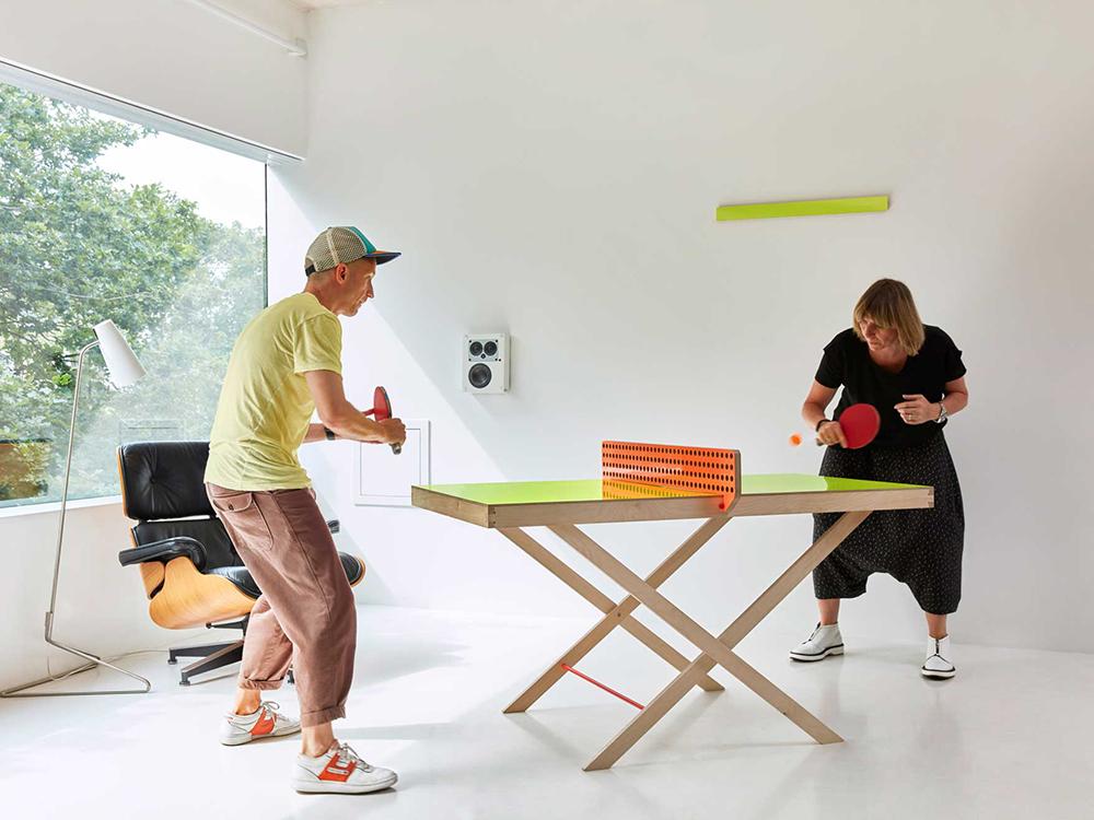 The Art of Ping Pong, celebrar la cultura del tenis de mesa. Deporte en espacios de trabajo