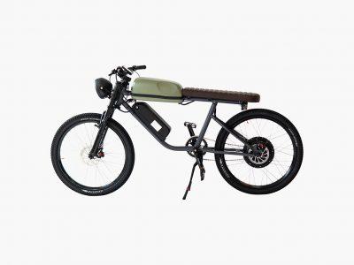 The Titan, la e-bike vintage de Ikenna Ofoha. Buen diseño canadiense