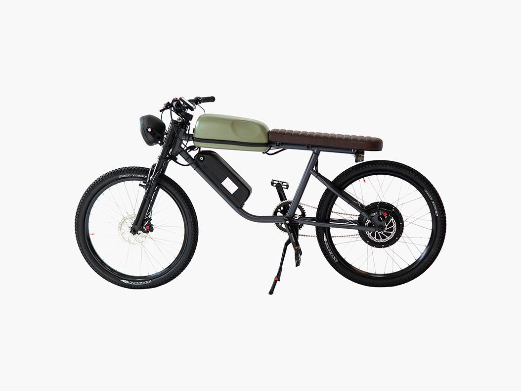 Titan, la e-bike vintage de Ikenna Ofoha. Buen diseño canadiense