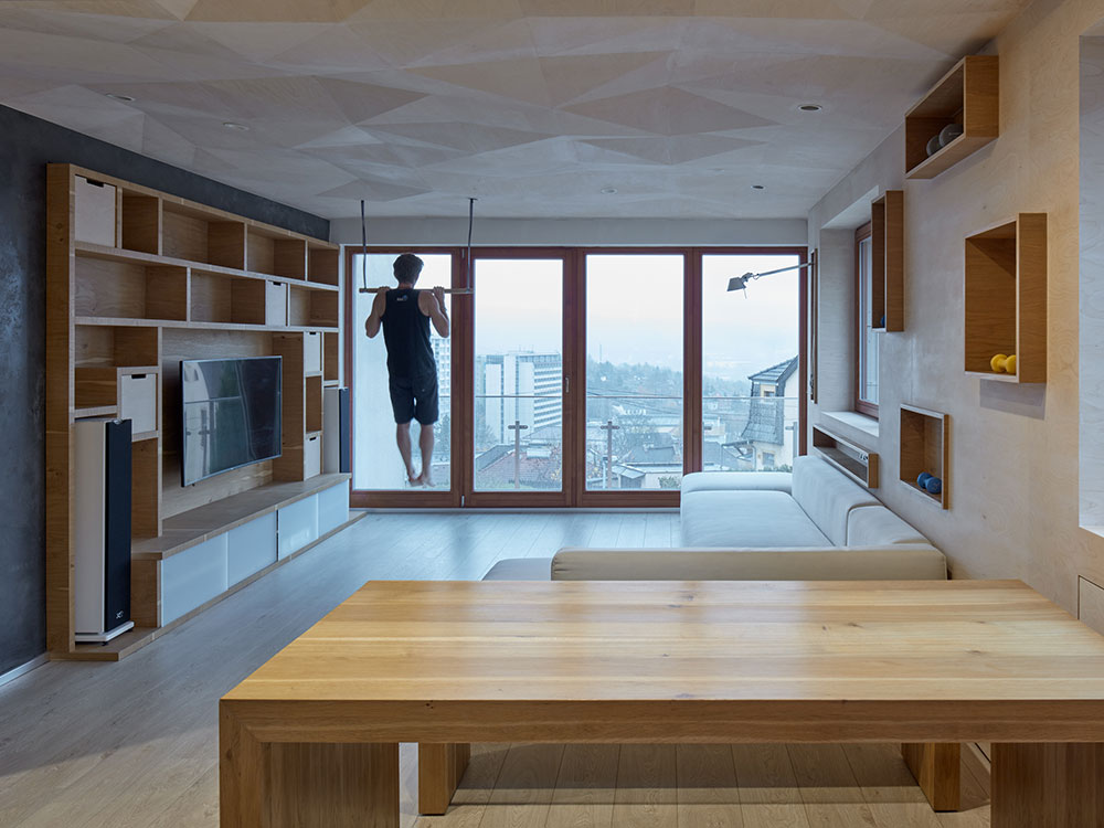 Un apartamento para músicos. Interiorismo en clave de A-SH
