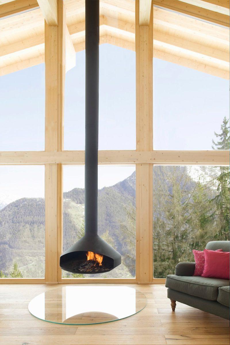 Chalet Nº 3, un moderno refugio de montaña en los Alpes suizos de Mitzman Architects