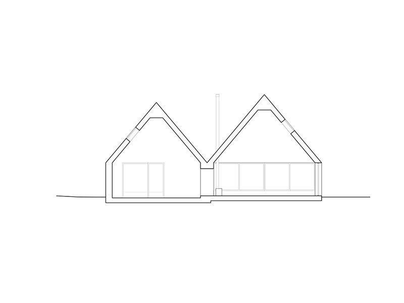 Hatley, la casa de campo de François Abbott. Formas y materiales autóctonos