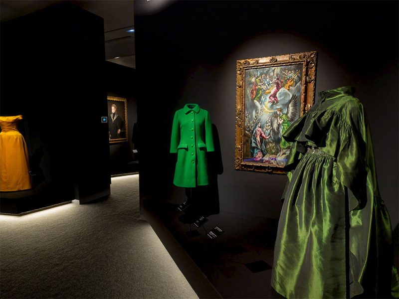 Balenciaga y la pintura española. Arte y moda en el Thyssen