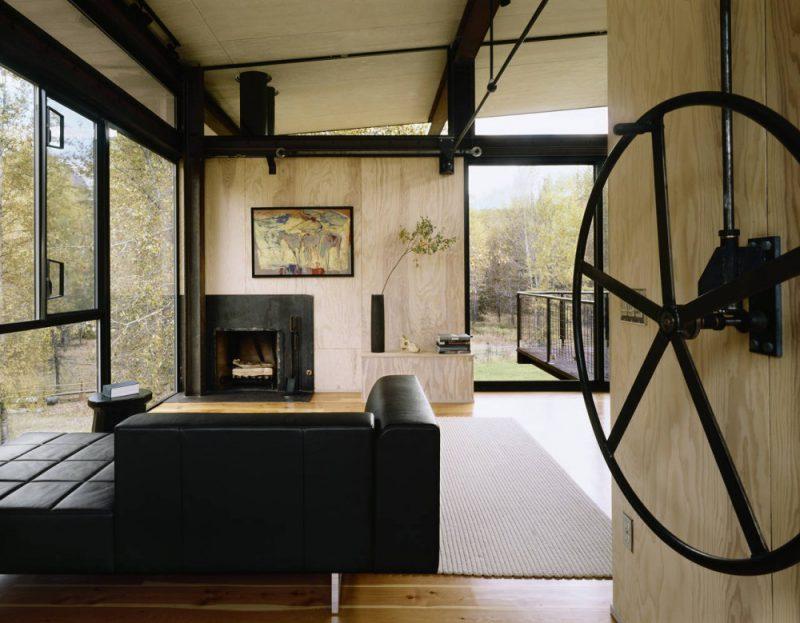 Refugio Delta, la vivienda vertical y compacta de Tom Kundig