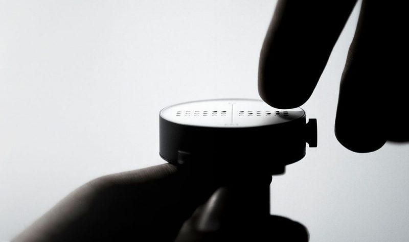 Dot Watch, el reloj de pulsera inteligente para personas con discapacidad visual