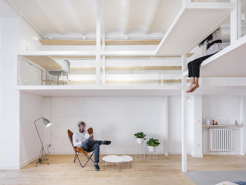 JHouse, crear espacios para nuevos usos. Reforma de Zooco Estudio en Madrid