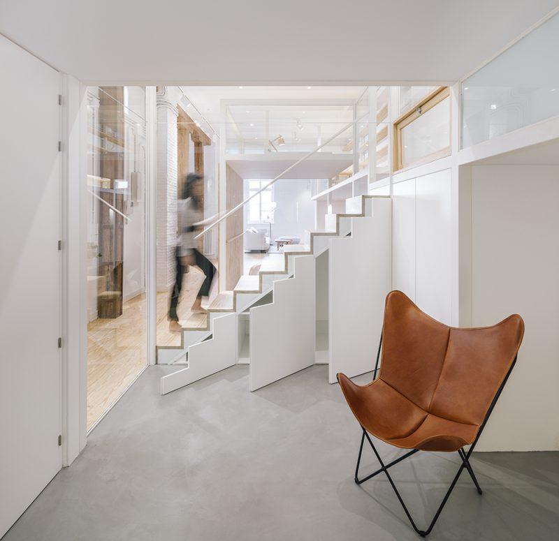 JHouse, crear espacios para nuevos usos. Reforma de Zooco Estudio en Madrid. © Imagen Subliminal