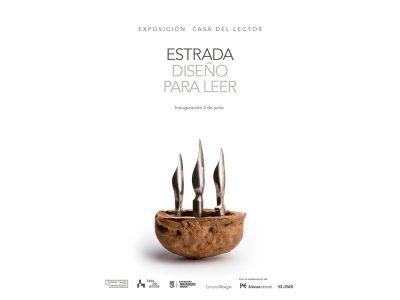Manuel Estrada en La Casa del Lector: exposición en el diseño de portadas de libros
