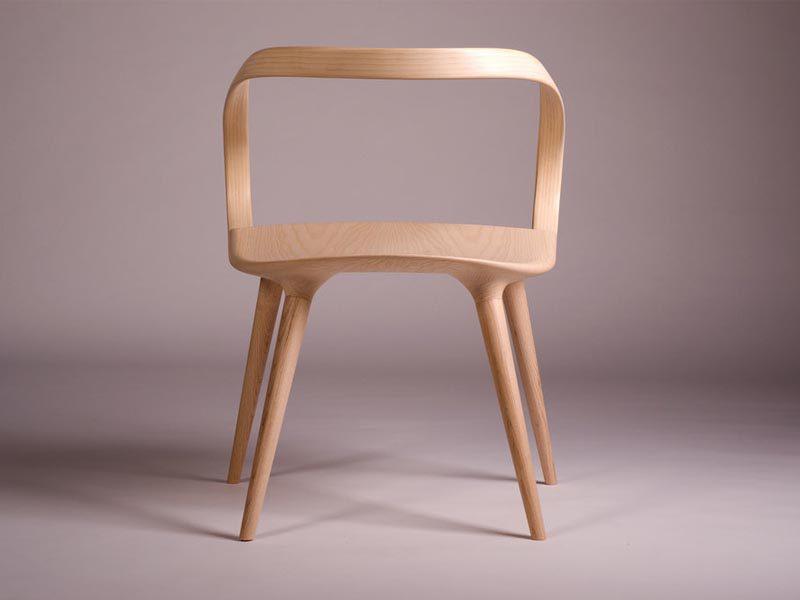 Velo Chair, la silla orgánica de Jan Waterston. Entre diseño y artesanía