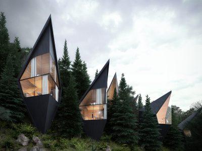 Tree Houses, el bosque y la arquitectura se integran en el proyecto turístico de Peter Pichler Architecture