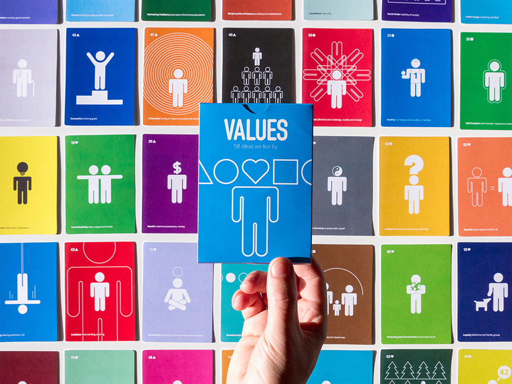 Values: 58 Ideas We Live By, de Genís Carreras