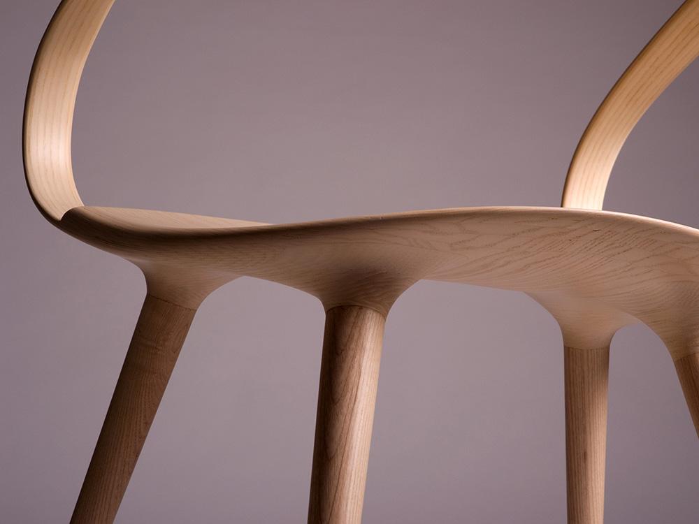 Velo Chair, la silla orgánica de Jan Waterston. Diseño artesanal británico