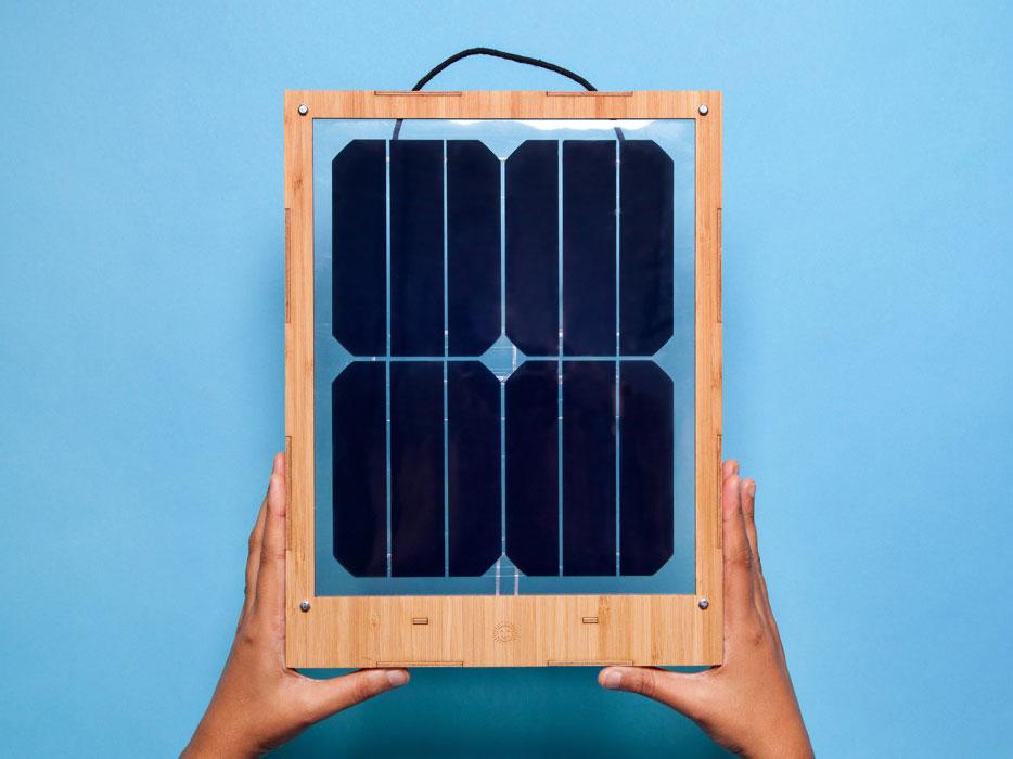 Window Solar Charger, un cargador solar para móviles en tu ventana