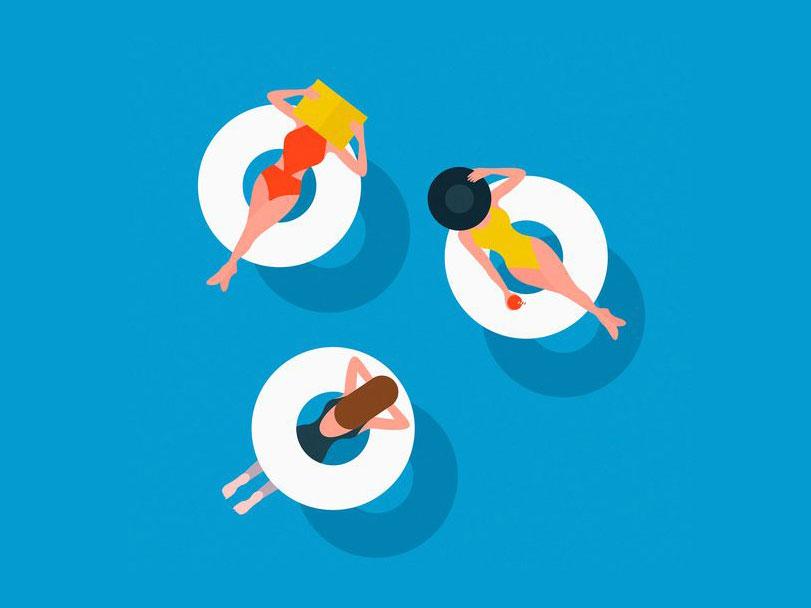 Agenda de agosto: unas vacaciones de diseño © Estudio Puerca