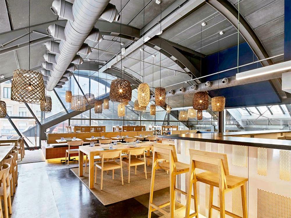 Caballa Canalla, la integración de un restaurante en un barrio en pleno proceso de renovación