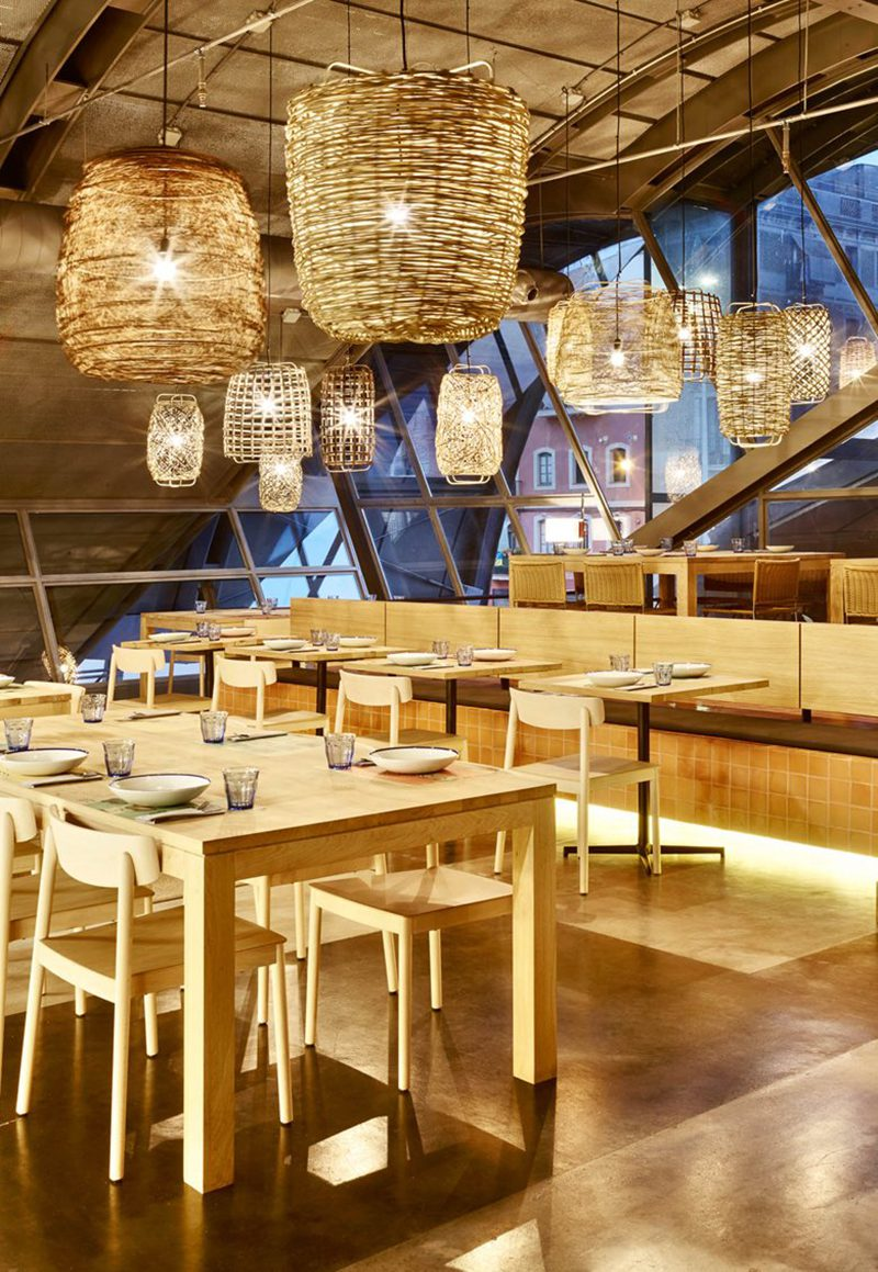 Caballa Canalla, el diseño de un restaurante mediterráneo según Mesura