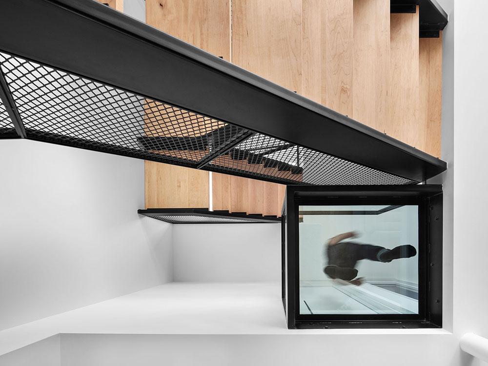 Casa Dessier, un proyecto de NatureHumaine en Montreal. Diálogo entre volúmenes y ángulos