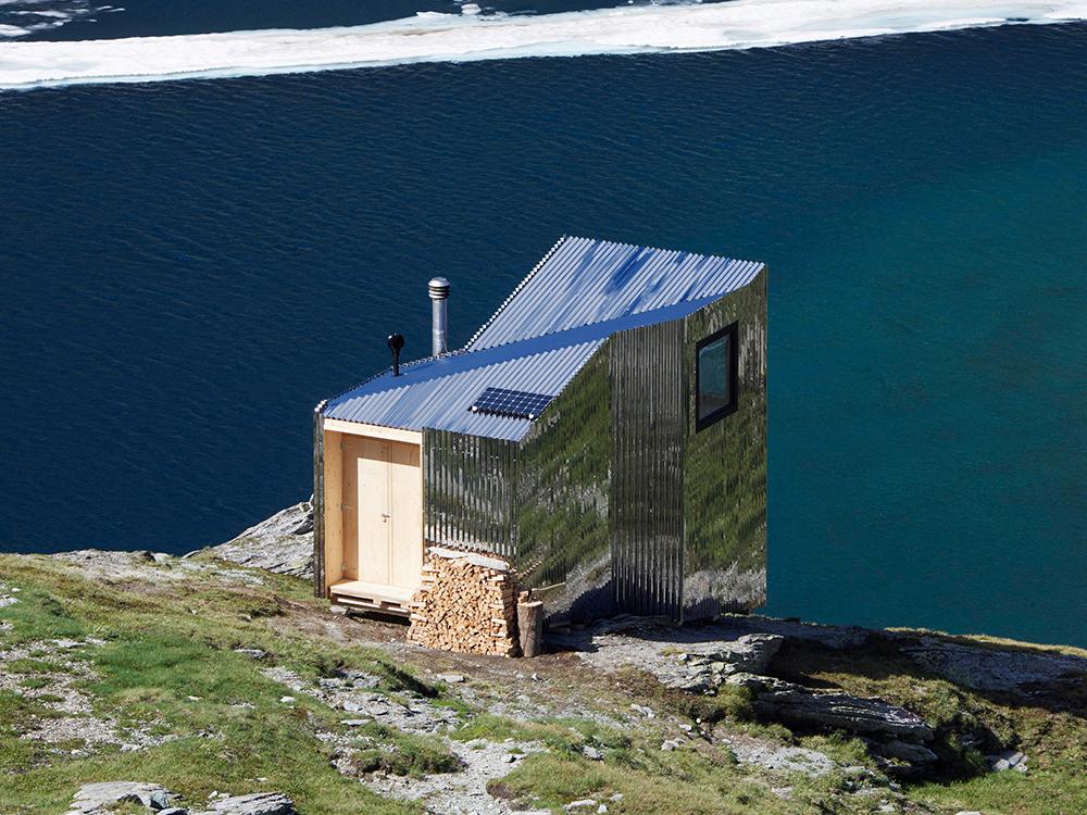 El refugio de Thilo Alex Brunner. Del diseño de calzado a la arquitectura de montaña
