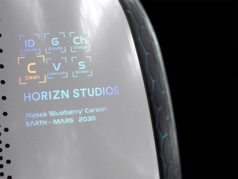 Horizn ONE, la maleta inteligente para viajes al espacio.