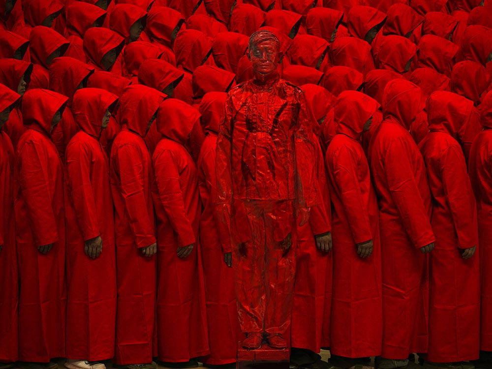 Liu Bolin. The Invisible Man, hasta el 15 de septimebre en el Palacio de Gaviria de Madrid