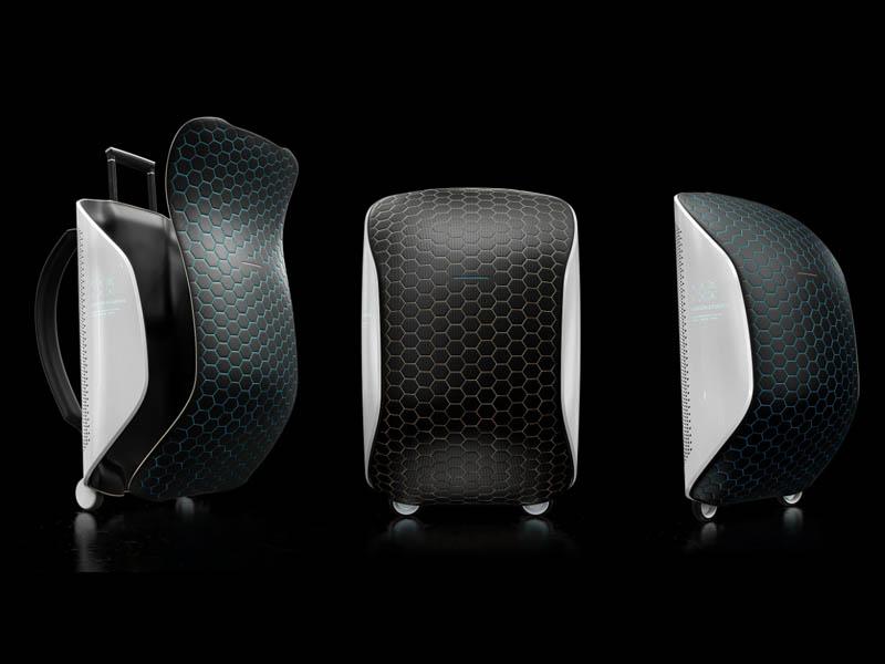 Horizn ONE, la maleta inteligente para viajes al espacio de Horizn Studios