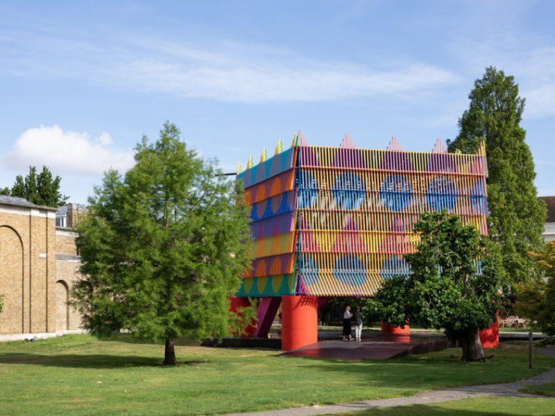 The Colour Palace, 2019, Pricegore Yinka Ilori, Galería Dulwich
