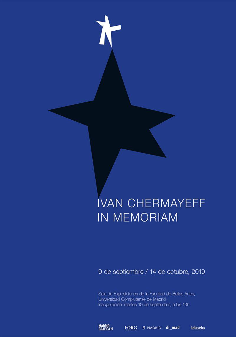Ivan Chermayeff in memoriam, buen diseño en la Facultad de Bellas Artes Universidad Complutense de Madrid
