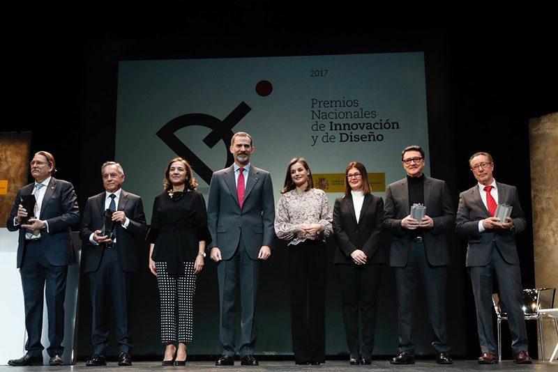Ceremonia de entrega de los Premios Nacionales de Innovación y de Diseño 2017.