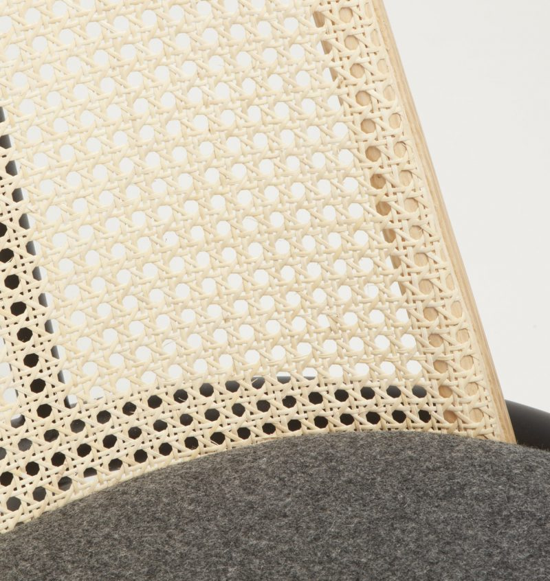 Fold, la silla lounge de Alain Gilles para Another Country. Repensar el rattan