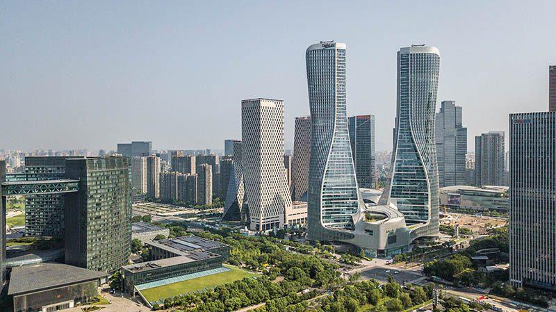La dimensión de la arquitectura asiática en las imágenes de Kris Provoost