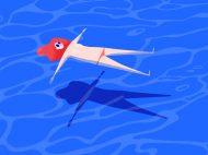 Summer, una ilustración de Gloria Shugleva