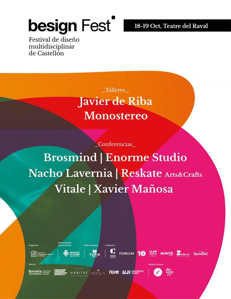 Besign Fest 2019: el festival de diseño multidisciplinar de Castellón