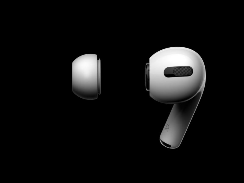 Apple presenta los AirPods Pro: cancelación de ruido, adaptabilidad, función y forma