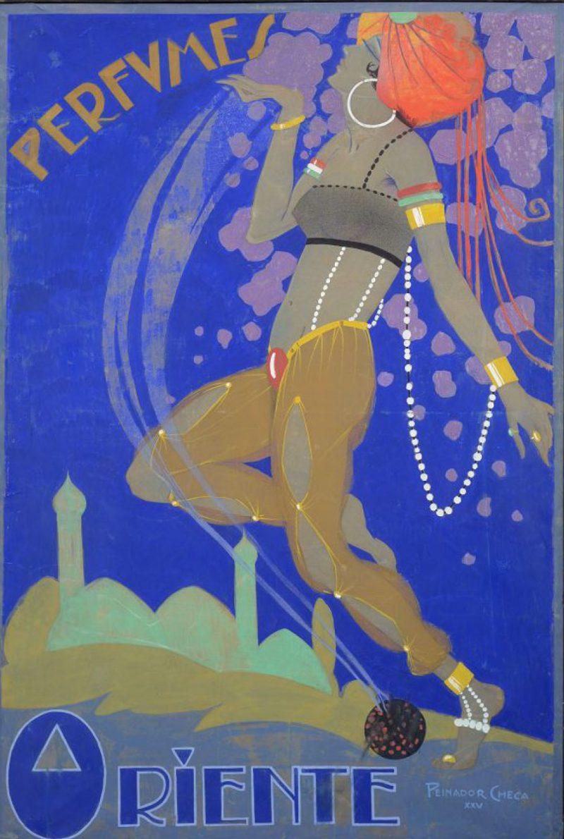 Exposición de carteles en el Museo Nacional de Artes Decorativas de Madrid