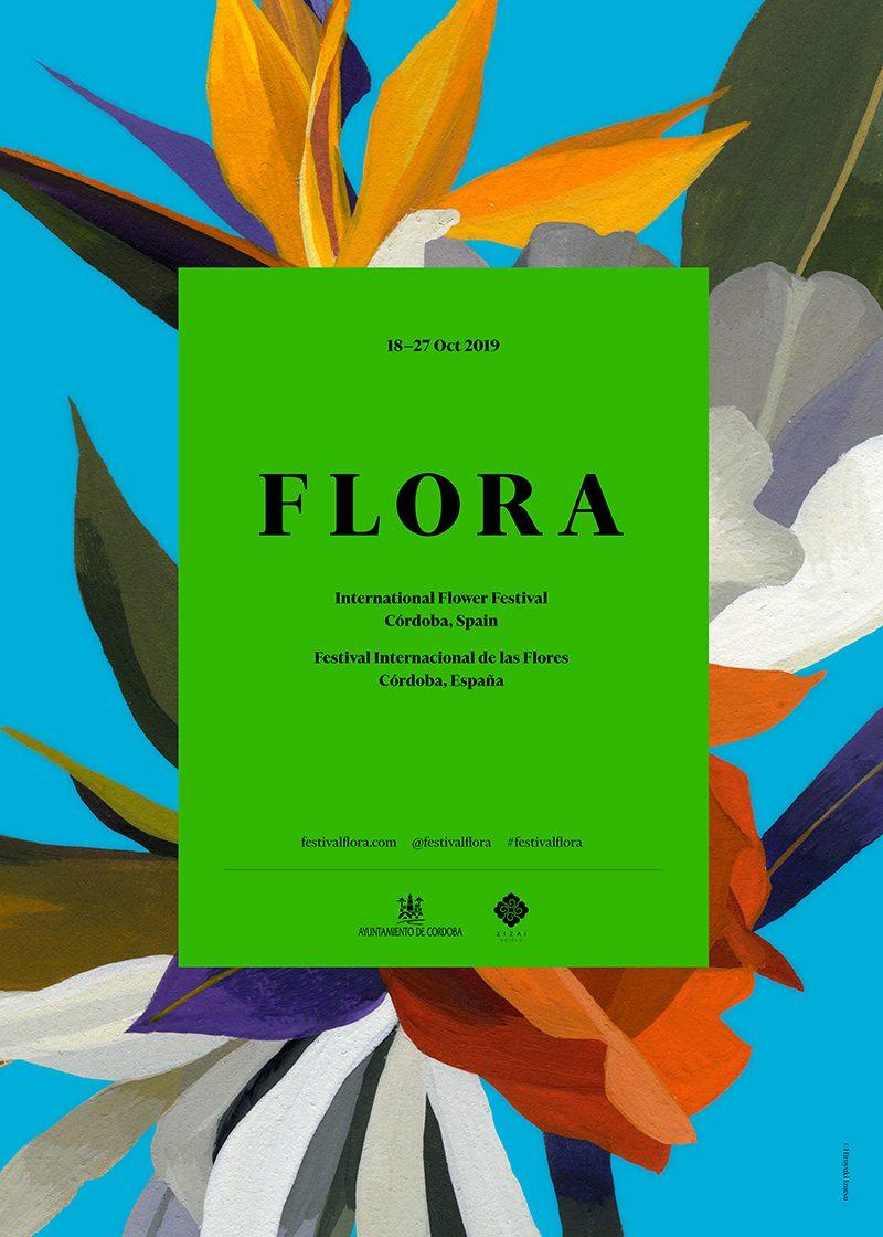FLORA Festival Internacional de las Flores, del 18 al 27 de octubre en Cordoba