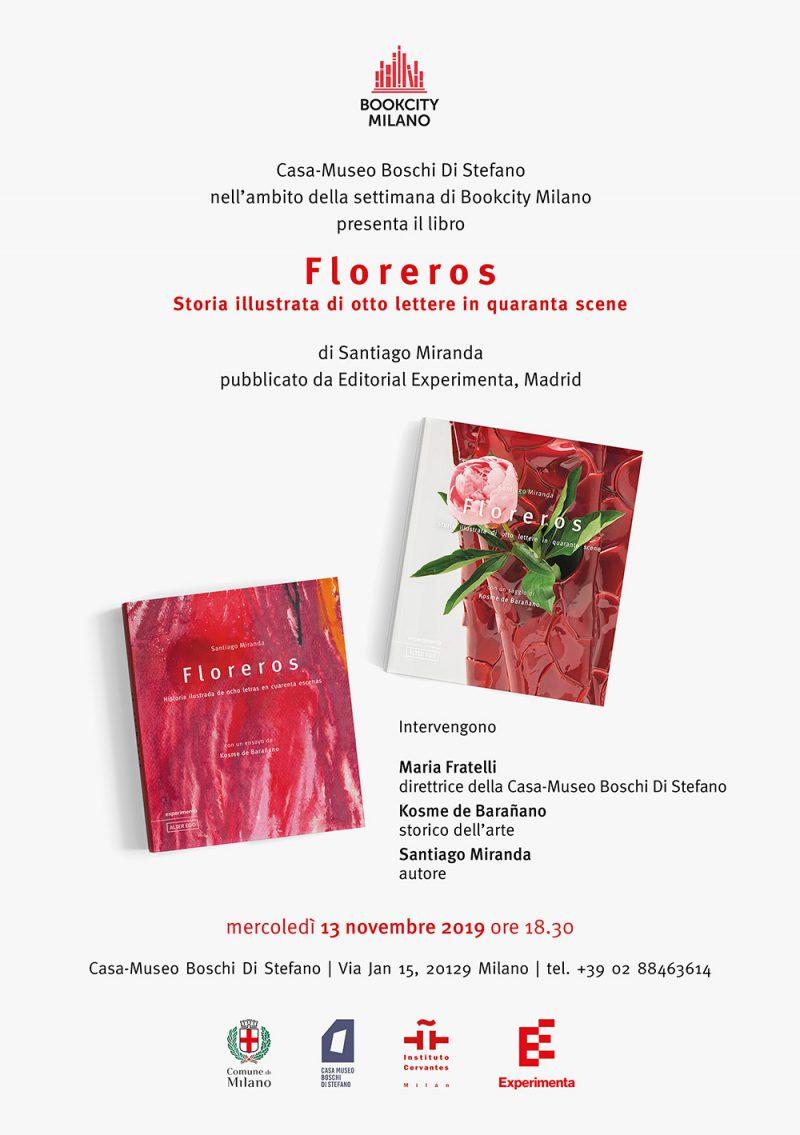 Santiago Miranda presenta su primer libro en Milán
