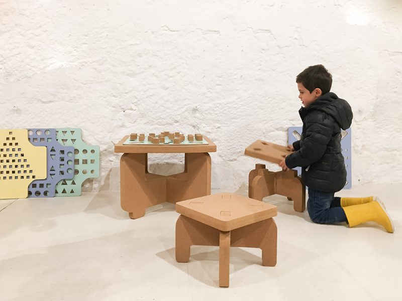 Mención Experimenta en Producto Fresco 2019: Doit, el mobiliario didáctico de Ana Suárez-Anta