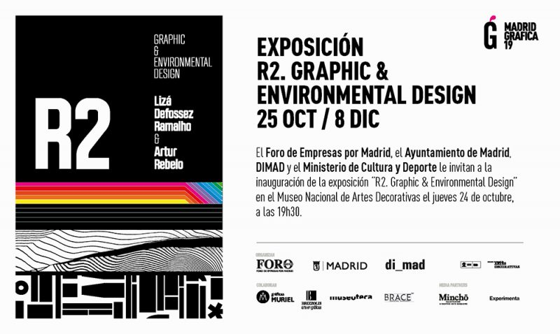 R2. Graphic and environmental design. Cartelería, esculturas tipográficas y arquigrafías en el MNAD
