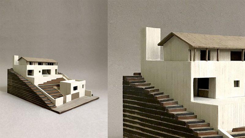 Representación gráfica de proyectos arquitectónicos.