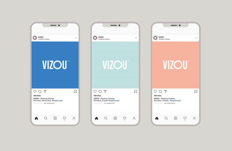 Studio Chapeaux y Axel Domke desarrollan la identidad de marca y el packaging de Vizou
