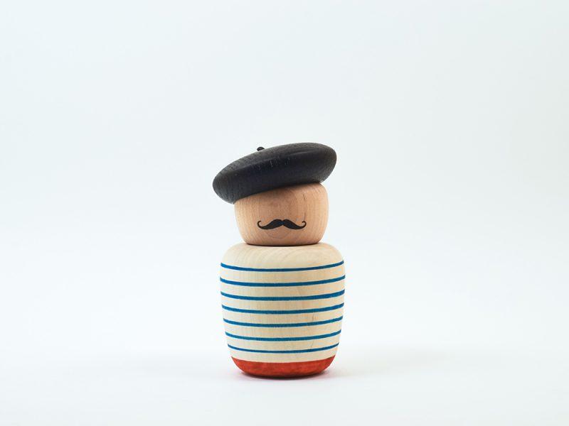 The Motleys, la colección de objetos de Bright Potato. Madera, imanes y diversidad cultural