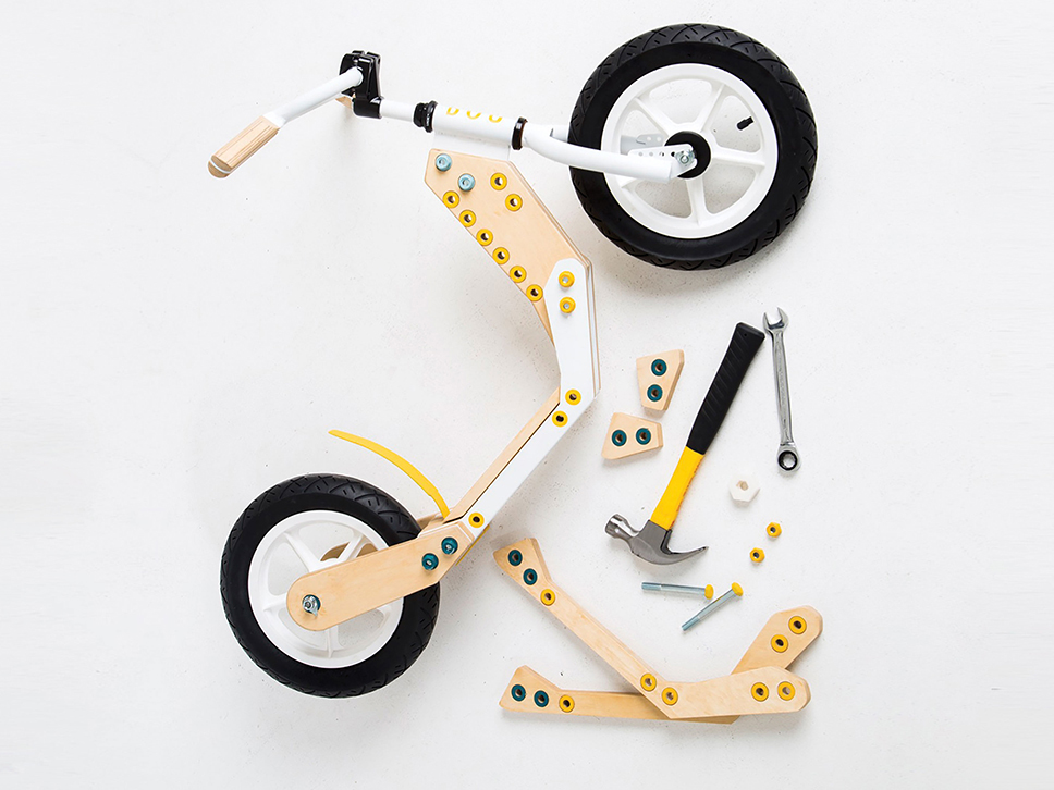 Bou Bike, la bicicleta DIY para niños de Sian Hosking Berge