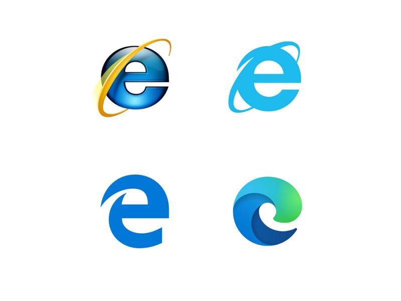 El nuevo logo de Microsoft Edge. Revivir una marca nunca fue una tarea sencilla