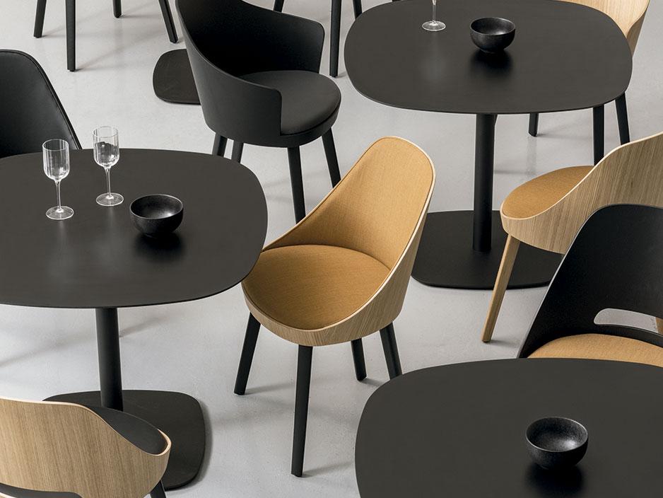 Kaiak, la colección de sillas de Estudi Manel Molina para Enea