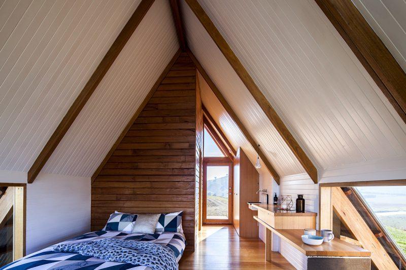 Jr's Hut, las cabañas de lujo de Anthony Hunt y Luke Stanley. El nuevo glamping australiano. © Hilary Bradford Photography