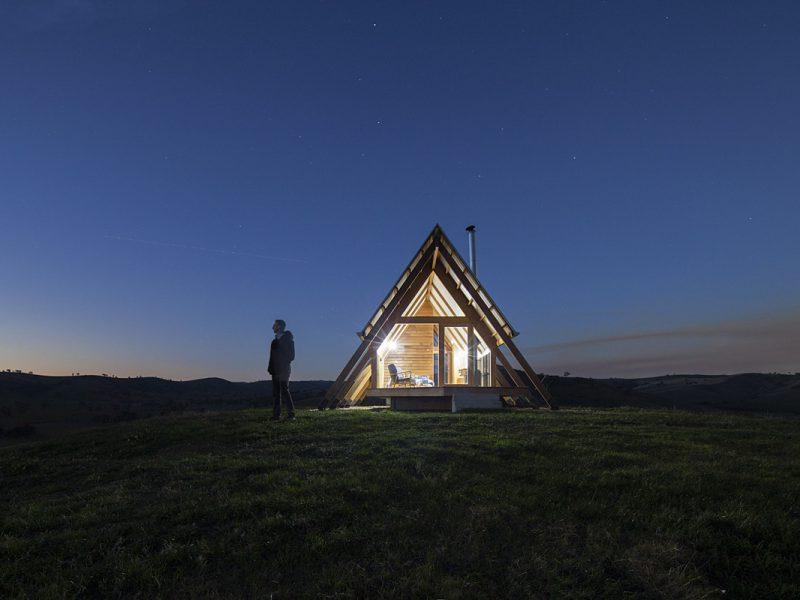 Kimo Hut, las cabañas de lujo de Anthony Hunt y Luke Stanley. El nuevo glamping australiano