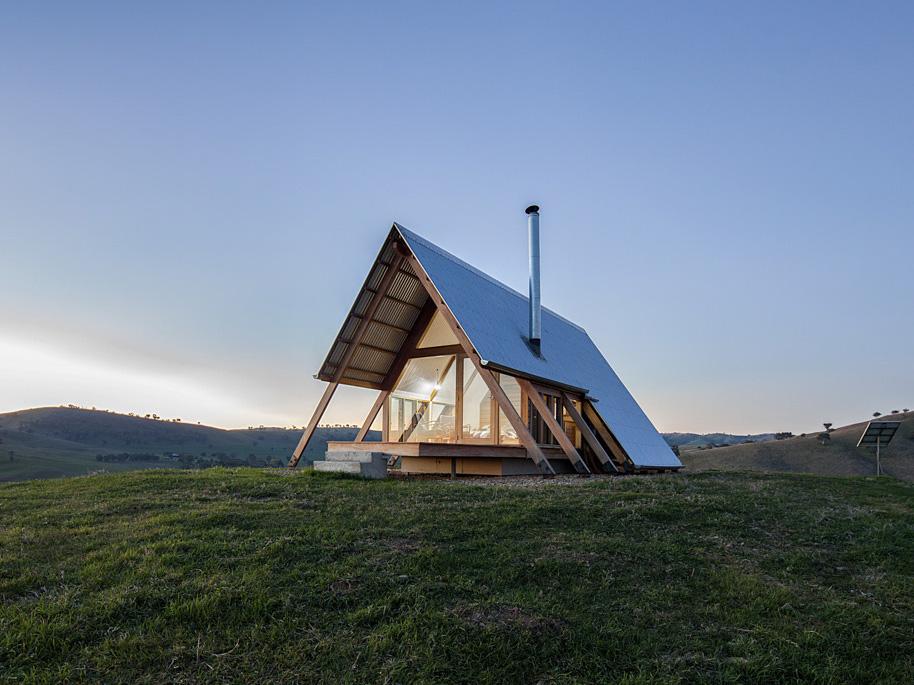 Jr's Hut, las cabañas de lujo de Anthony Hunt y  Luke Stanley.  El nuevo glamping australiano